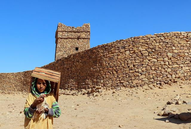 Happy Friday / Ouadane, Adrar region, Mauritania