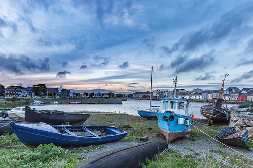 boats boote boot galway ireland irland europe europa sonnenuntergang sunset hafen port travel canon canoneos6d eos