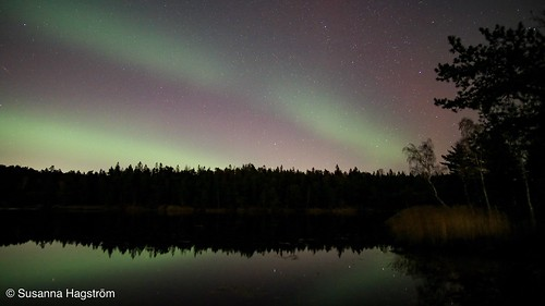 Aurora borealis   by Blackpeppereye