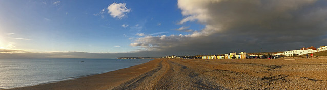 Seaford beach from The Shoal