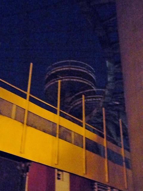 New York State Pavilion at Night