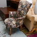 Small floral chair E70
