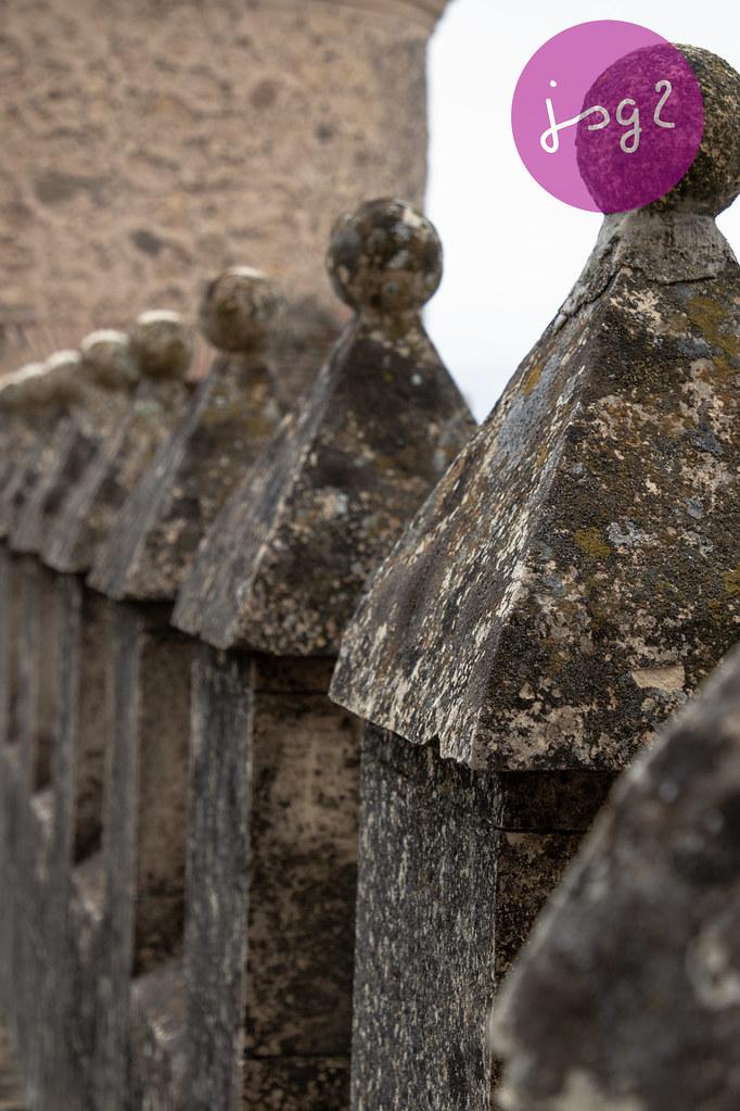 Terraza De Los Reyes Alcázar De Segovia Castilla Y León