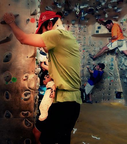 Fantasyclimbing corso di arrampicata il deposito di zio Paperone 7
