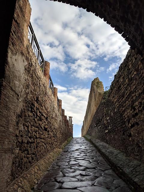 Porta Marina - Pompeii, Italy