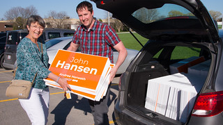 First Lawn Signs