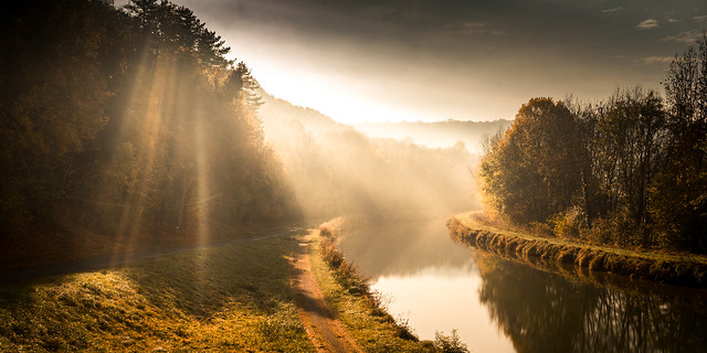 Morning Fall, in France