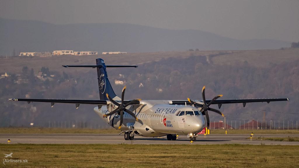 OK-GFR Czech Airlines (CSA) ATR 72-500