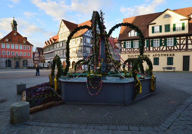 Schorndorf - Schorndorfer Osterbrunnen