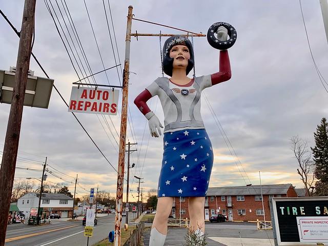 Nitro Gal at Werbany Tire Town Blackwood NJ New Jersey Retro Roadmap