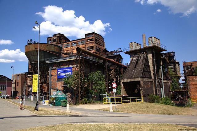 Industriepark Dolní Vítkovice in Ostrava am 2.07.16