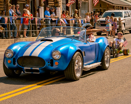 shelby cobra council idaho fourth july parade small town rural collectible car nikon d5200 50mm18g