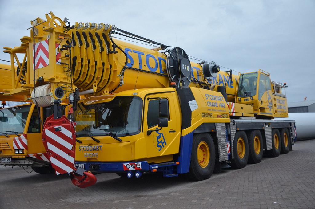 brand new 4a40c e1669 Stoddart Crane Hire Grove GMK 5250L KR 18 LDD. | Inverness ...