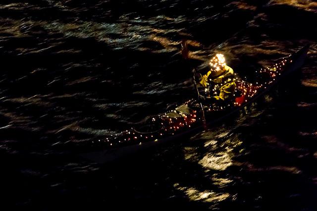 LED Kayak in CPH Harbour EXPLORED