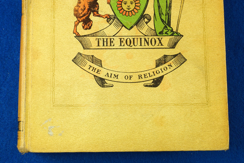 RD26573 The Equinox Review of Scientific Illuminism 1974 Vol. 1 Complete Set of 10 Books Aleister Crowley Occult Magic DSC08475