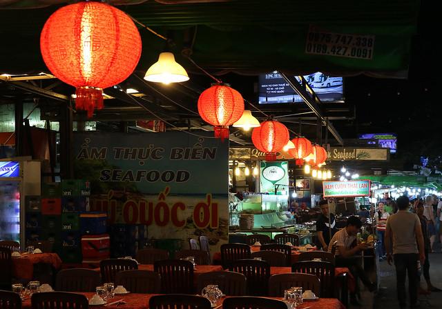 Night market lamps
