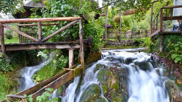Wasserfälle in Rastoke