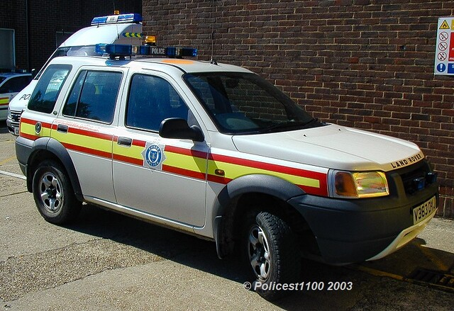 Sussex Police LR Freelander V363 DYJ