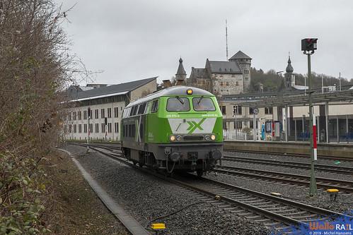 225 073 AIXrail . Stolberg Altstadt . 16.03.19.