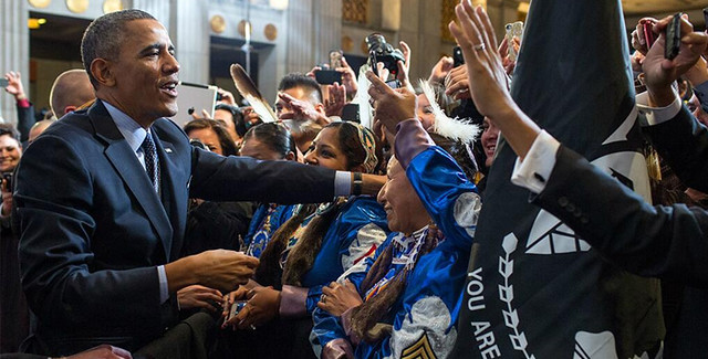 President Obama at the White House Tribal Nations Conference