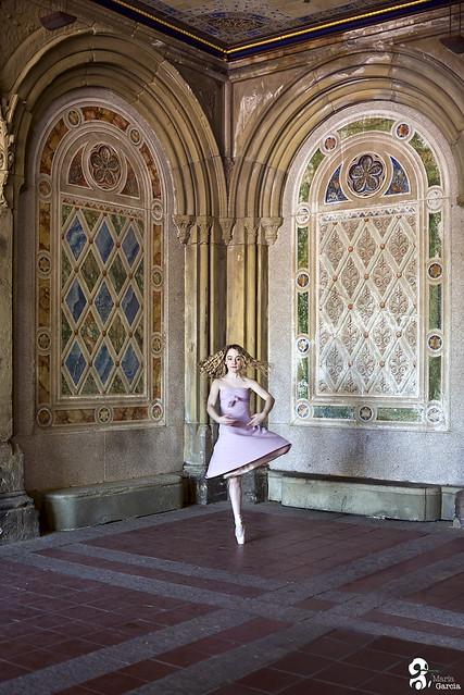 Ballerina in Central Park