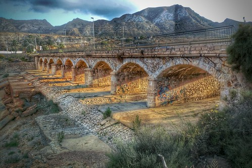 bridge sunset puente mazarron fav10 nexus6