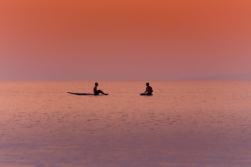 japan koukibeach nago okinawa beach evening puddleboard sea summer young 名護市 沖縄県 日本 jp h