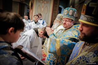 Литургия в Софийском соборе 205