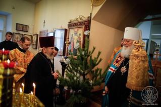 Литургия в храме Дмитрия Солунского 190