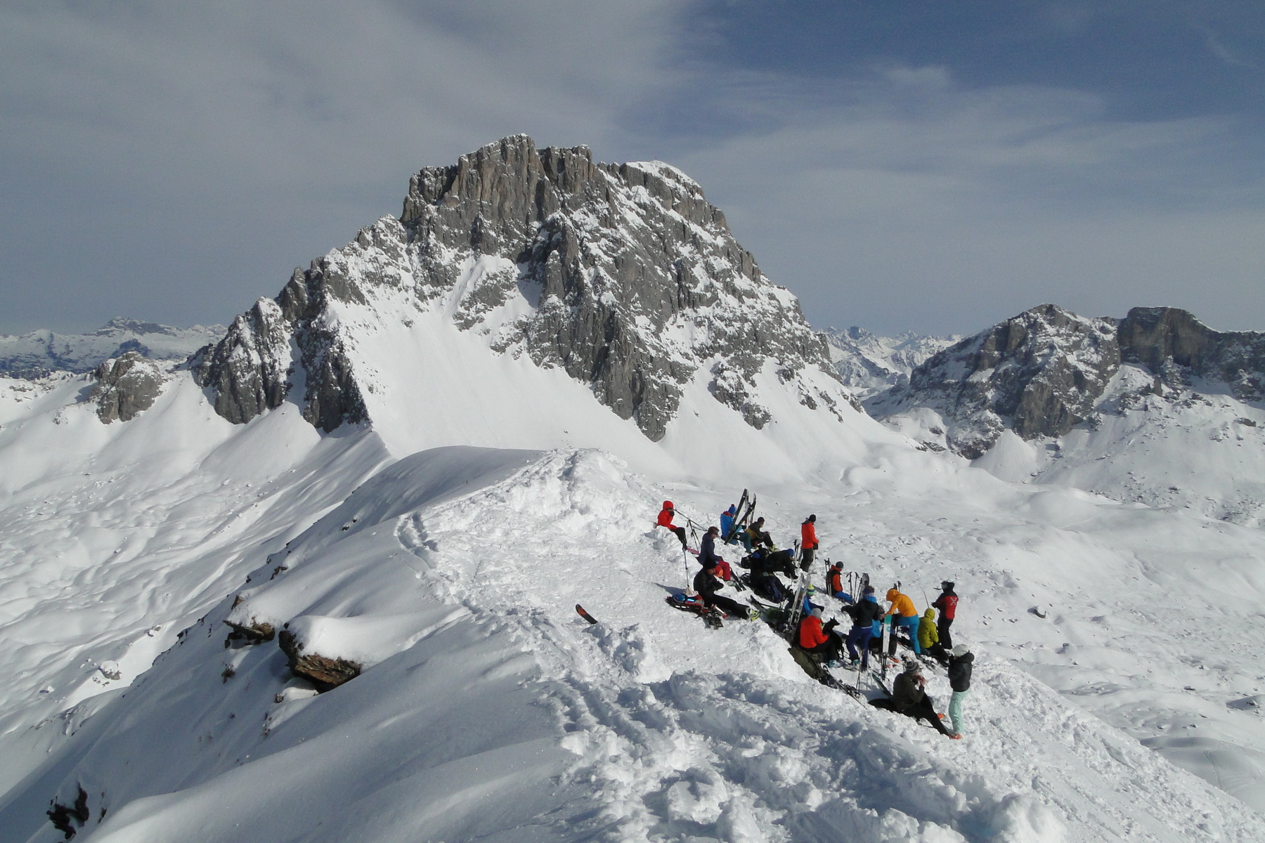 Skitour Schafberg 12.02.2017