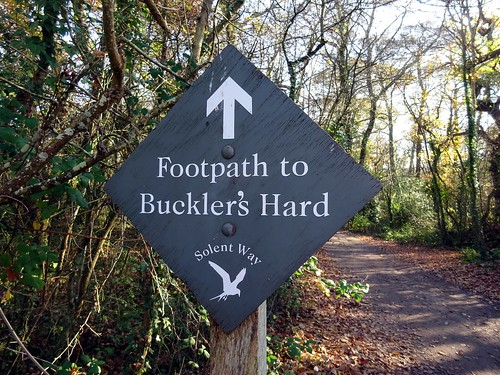 Footpath to Buckler's Hard | by markhorrell