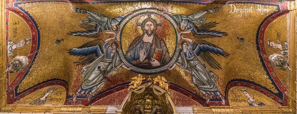 La chapelle Saint-Laurent (San Lorenzo in Palatio) ou Sancta Sanctorum - Rome