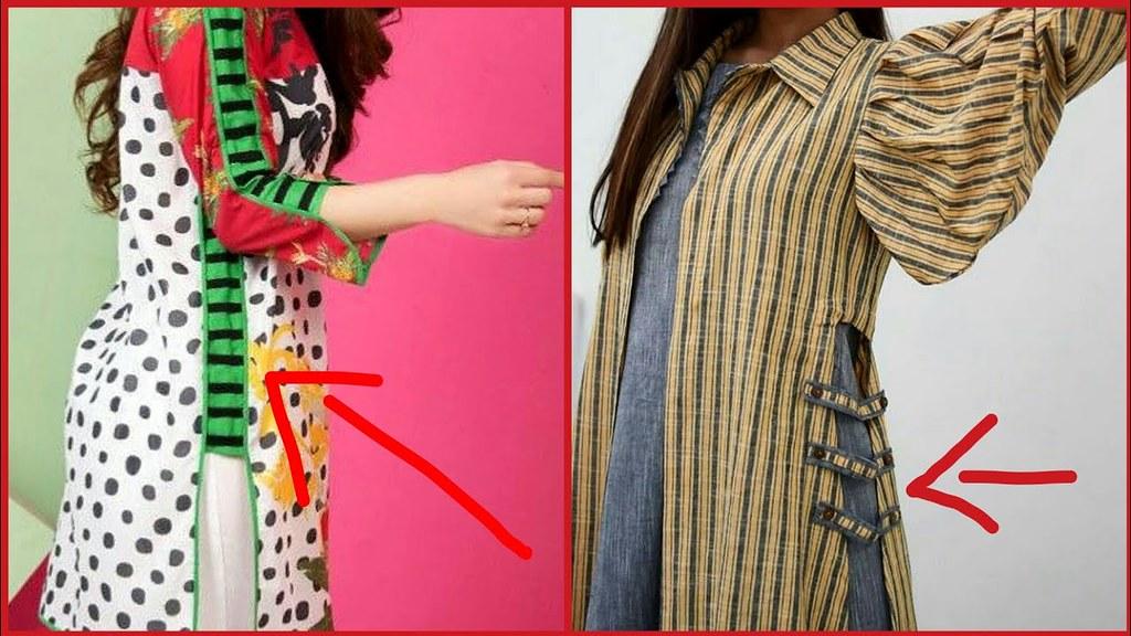 Latest & Stylish Kurti Side Chaak Designs Ideas - Fashion ...
