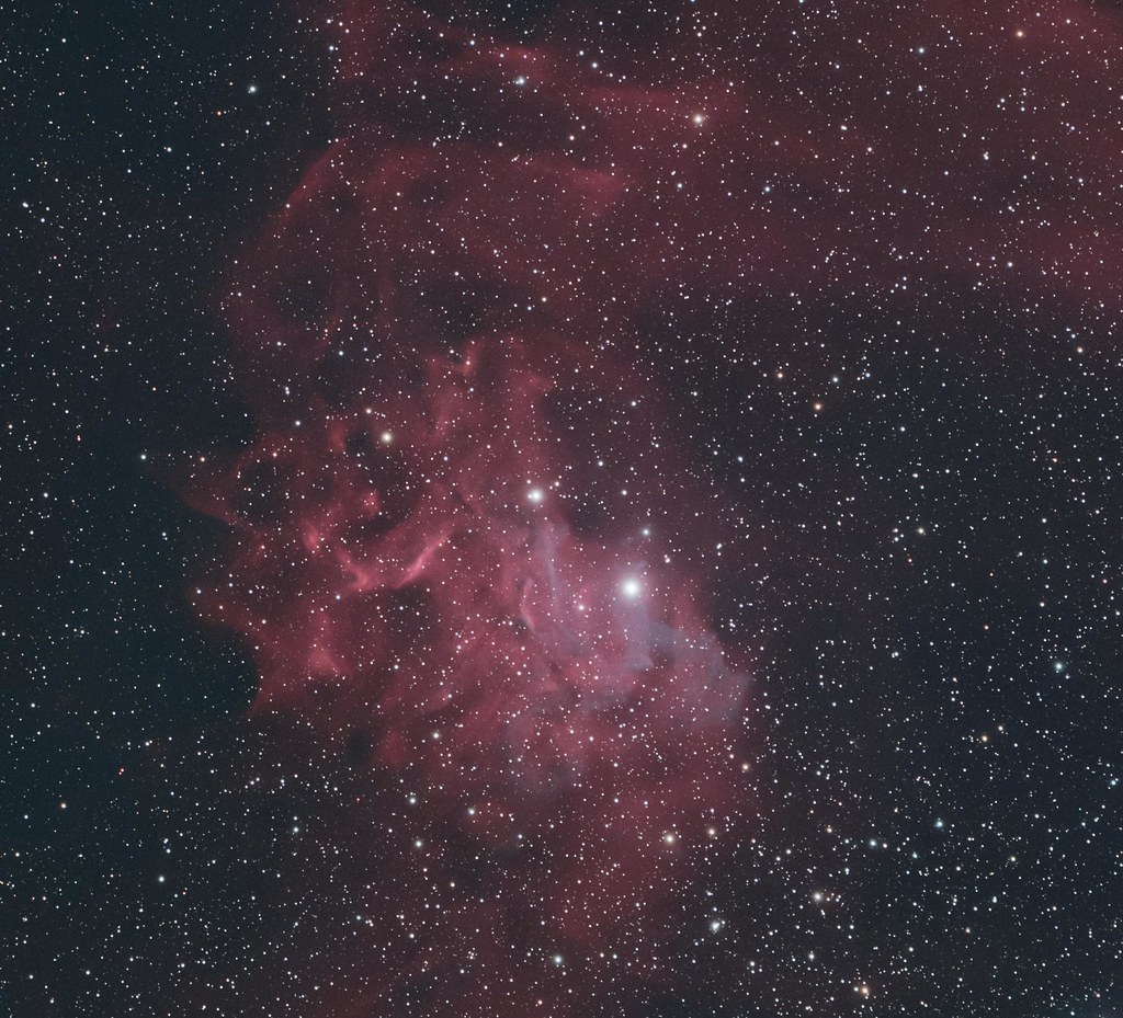 IC 405 The Flaming Star nebula in Auriga | Most astronomers … | Flickr