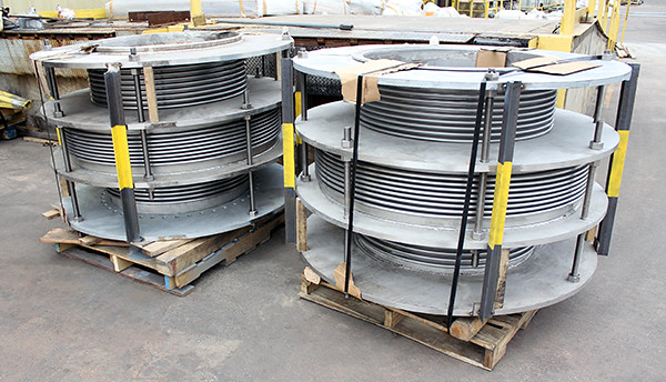 "In-line Pressure Balanced Expansion Joints Designed for a 58"" Pipeline at a Chemical Plant"