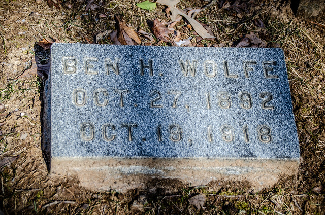 Ben Wolfe Grave