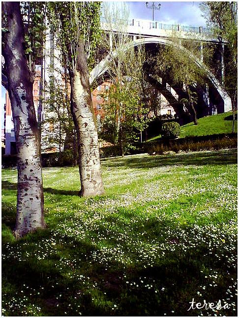 Jardines De Las Vistillas Madrid Maria Teresa Alvarez Millan