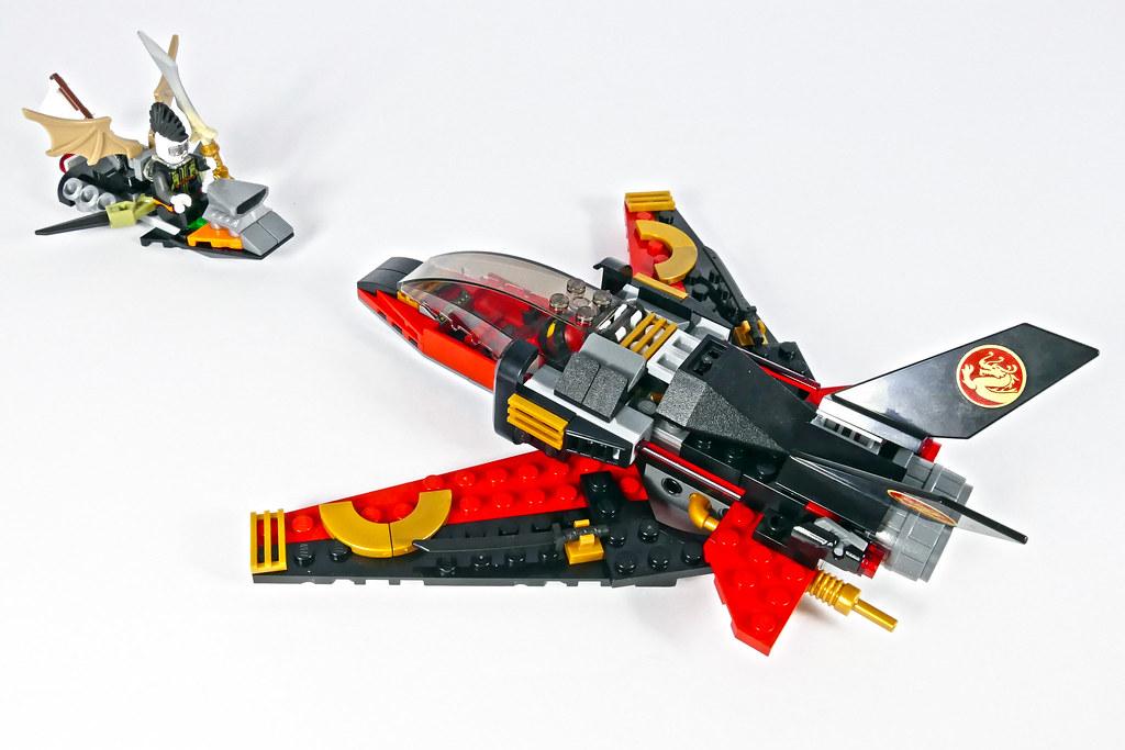 Kai S Eagle Jet Lego Ninjago 70650 C Model Youtu Be K3i Flickr