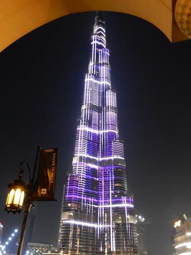 Burj Khalifa - lichtshow