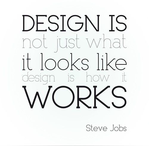 Design is more than looks