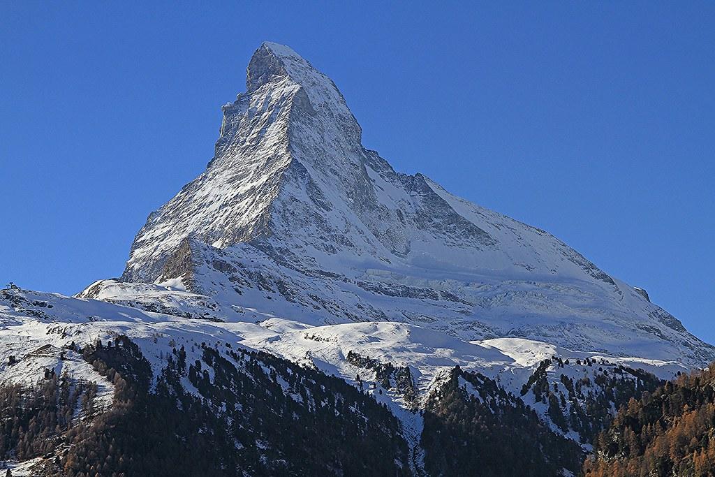Matterhorn from Zermatt 2