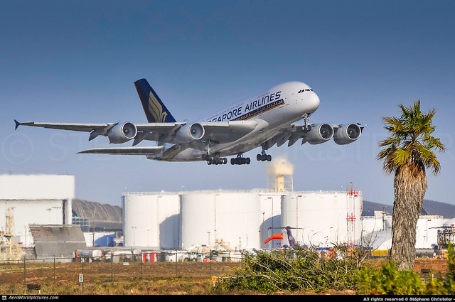[LAX.2012] #Singapore.Airlines #SQ #Airbus #A380 #9V-SKD #awp