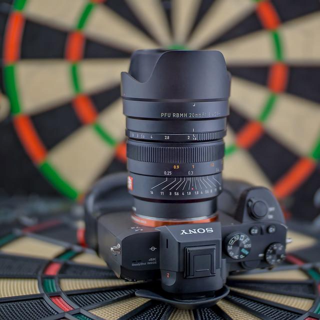 SONY ⍺7III with Viltrox FE 20mm ƒ/1.8 ASPH seen by SONY ⍺6000 with Sigma 50mm ƒ/1.4 DG HSM | Art on Viltrox EF-E II Speed Booster @ƒ/1.0