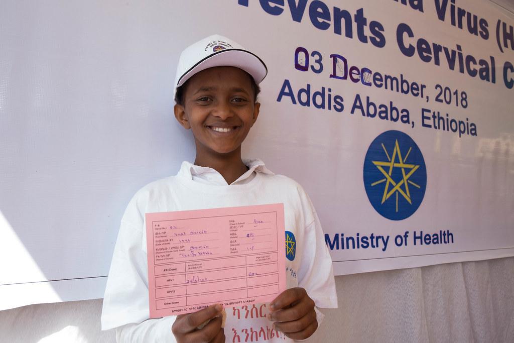 National HPV vaccination launching program at Tesfa Kokeb … | Flickr