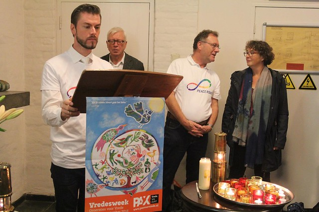 Netherlands-2018-09-30-Dutch Peace Road Joins Other Groups