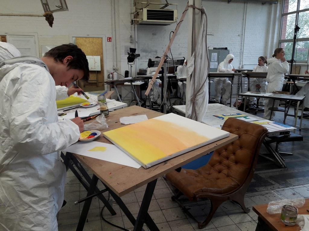 sessie 3 schilderen op doek (4)