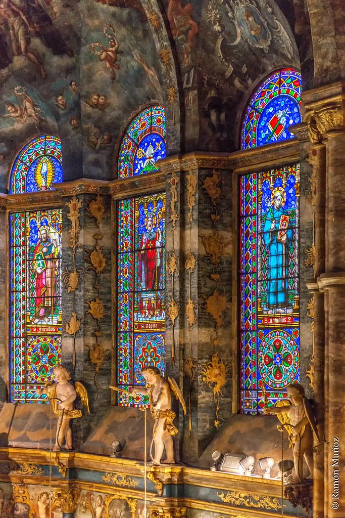 Resultado de imagen de interior catedral de santa maria lugo