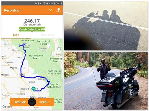 246milestoday visaliatoyosmiteelportal visalia yosmite elportal dayfour 4thoct biketrip amazing bike harley 1140miles mike jill oct2018 yosemite sequoia nationalparks bikehire harleydavidson 1140mileswholetrip