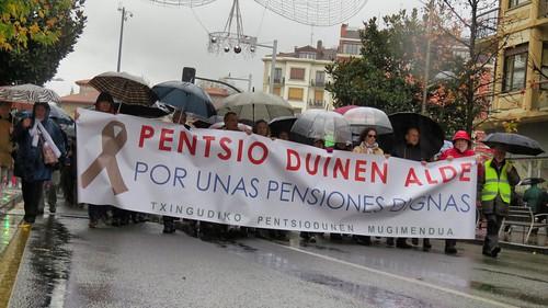 Foto Archivo: Manifestación pensionistas