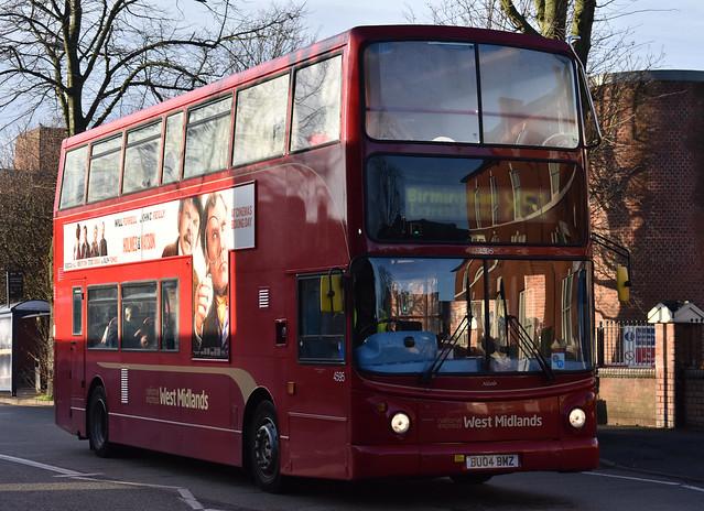 'National Express West Midlands' Transbus Trident 2 '4595, Nicole' (BU04 BMZ)
